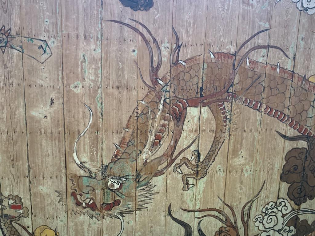 大蓮寺五百羅漢堂天井絵